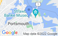 Map of Portsmouth NH