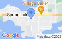 Map of Spring Lake MI
