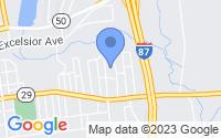Map of Saratoga Springs NY