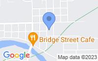 Map of Belding MI