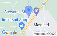 Map of Mayfield NY