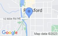 Map of Rockford MI