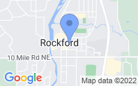Map of Rockford MI