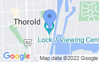 Map of Thorold ON