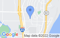 Map of Glendale WI