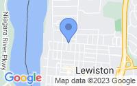 Map of Lewiston NY