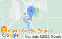Map of Virgil ON