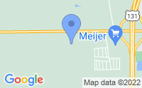 Map of Cedar Springs MI
