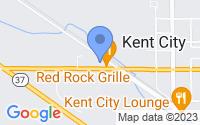 Map of Kent City MI