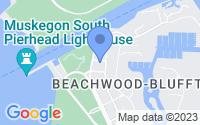 Map of Muskegon MI