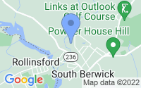 Map of South Berwick ME
