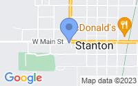 Map of Stanton MI