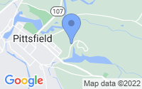 Map of Pittsfield NH