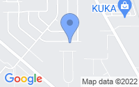 Map of Saginaw MI