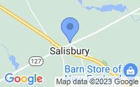 Map of Salisbury NH