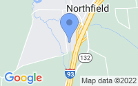 Map of Northfield NH