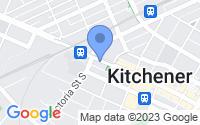 Map of Kitchener ON