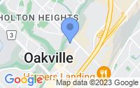 Map of Oakville ON