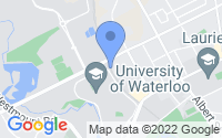 Map of Waterloo ON