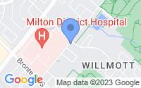 Map of Milton ON