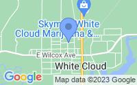Map of White Cloud MI