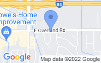 Map of Meridian ID