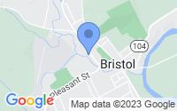 Map of Bristol NH