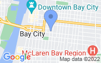 Map of Bay City MI