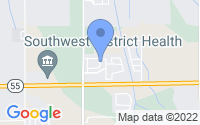 Map of Caldwell ID
