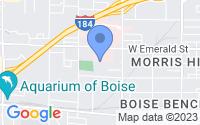 Map of Boise ID