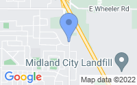 Map of Midland MI