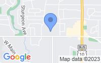 Map of Midland MI