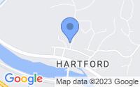 Map of Hartford VT