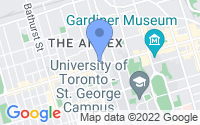Map of Old Toronto ON