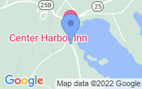 Map of Center Harbor NH