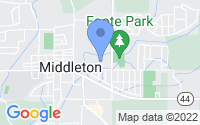 Map of Middleton ID