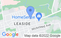 Map of East York ON