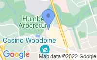 Map of Etobicoke ON