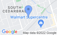 Map of Scarborough ON