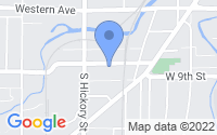 Map of Fond Du Lac WI