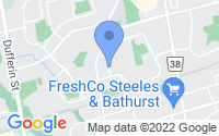 Map of Vaughan ON