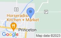 Map of Princeton WI