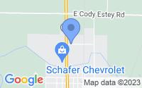 Map of Pinconning MI