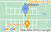 Map of Baldwin MI