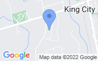 Map of King City ON