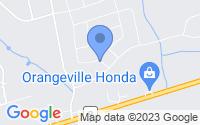 Map of Orangeville ON