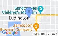 Map of Ludington MI