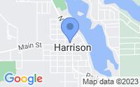 Map of Harrison MI