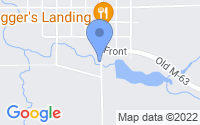 Map of Luther MI
