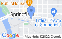 Map of Springfield OR